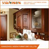 Cabina de cocina por encargo de madera sólida hecha en China