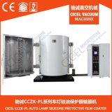 Двузатворная лакировочная машина вакуумного испарения CZ-1000 для пластмассы, PP, ABS, Ect