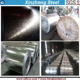 (0.125mm-6.0mm) Bobina de aço galvanizada do metal de folha da telhadura de Dx51d material de aço