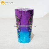 480ml電気侵食によって着色されるガラスタンブラー