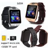 Reloj elegante de moda de Bluetooth con la cámara Dz09 de los 2.0m