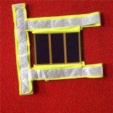 De Weerspiegelende Veiligheid van het Product van de zonneMacht/Verwarmend Vest met Zonnecel