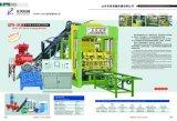 Bloque automático de la depresión del cemento Qt6-15 que hace la máquina para la planta del ladrillo