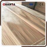 Folheado de madeira de Gurjan dos pés 4*7 para a mobília Home