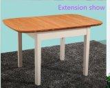 家具の表および椅子を食事する内陸の拡張可能なSolidwood