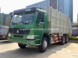 Sinotruk HOWO 상표 20m3 패물 쓰레기 압축 분쇄기 트럭