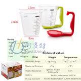 Peso elettronico dell'alimento di dieta della scala della cucina della tazza di misurazione di Digitahi staccabile