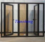 Finestra di alluminio della stoffa per tendine di colore bianco rivestito della polvere per commerciale e residenziale