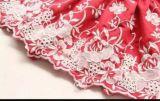 pour le lacet de broderie de dames/tissu de coton/bon prix de Qualily/meilleur