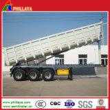 砂のDinasの輸送のための頑丈な採鉱トラックのトレーラーのダンプ
