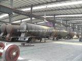 Semi remolque del camión de petrolero del camión cisterna de cemento a granel