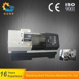 Tornio orizzontale di CNC della base piana di prezzi di fabbrica Ck6140