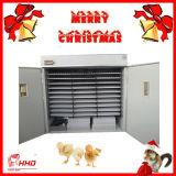 Incubadora de 4000 codorniz automáticas dos ovos e de ovos da galinha