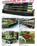 Supermarkt-Ausstellungsstand-Regal für Gemüse und Früchte