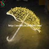 Weihnachten 3D LED Light Umbrella