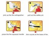 Extincteur de haute qualité ABC Dry Powder pour la lutte contre l'incendie