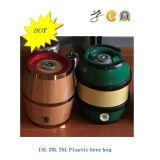 tambor de cerveja plástico de 15L 20L 25L