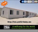 Casa prefabricada modular del verde del proyecto de Qatar para el chalet