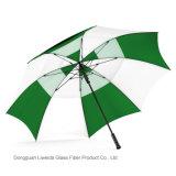 Parapluie de publicité résistant ouvert de golf de parapluie de pluie et de vent d'automobile protégeant du vent