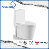 Tocador de cerámica del armario de una sola pieza de Siphonic del cuarto de baño (AT8005)