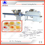 Pudding and Jelly Cup Automatic Shrink Packing Machinery