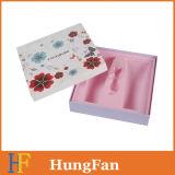 Rectángulo de regalo de papel de empaquetado del perfume cosmético del diseño de la manera