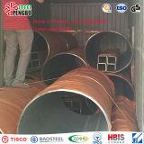 Tubería de acero inoxidable sin costura para tubos de gas de petróleo