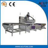 La carga auto y descarga el ranurador 1325, máquina alto automatizada del CNC de la solución de la jerarquización con el cargamento automático y descarga del sistema