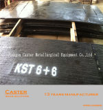 Direktes Fabrik-Erzeugnis-hohes Chrom-Karbid-zusammengesetzte bimetallische Stahlplatte