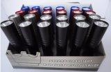 De goedkope Bevordering van de Zak 1AA dreef Mini LEIDEN Flitslicht met het Slanke Lichaam van het Aluminium aan