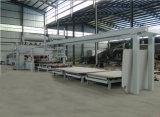 Melamina corta automática del ciclo que lamina la cadena de producción caliente de la prensa