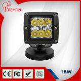 "Alta calidad 3 "" 18W Waterproof LED Light con Ce/FCC/RoHS/IP68"