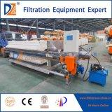 Filtre-presse automatique de S.S. 304 pour le traitement de asséchage de cambouis
