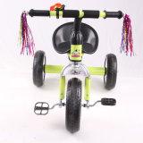 Triciclo do pedal das crianças da bicicleta da roda do carro três das crianças da aprovaçã0 En71 com frasco