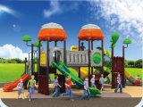 Equipamento plástico HD-Tsb002 da corrediça do campo de jogos ao ar livre dos centros do jogo dos miúdos
