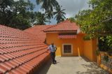 Tuile de toit revêtue de PMMA revêtue de fibres de verre UPVC