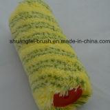 Grüner Streifen des Stapel-18mm auf gelber niedriger Ployamaid Lack-Rolle