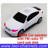 Altavoz del coche Hx968 con el disco de radio del USB de la tarjeta de FM TF, amplificador audio de los mini multimedia portables