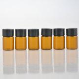 2ml Brown Glasöl-Flasche, kosmetische Beispielphiolen (NBG1137)