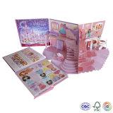 L'impression de papier sautent vers le haut le livre 3D pour apprendre ou divertissement d'enfants
