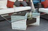 верхняя часть таблицы печатание шелковой ширмы 8mm Toughened шахмат стеклянная для мебели