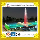 Disegno esterno della fontana di musica dell'acqua