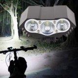 Lámpara impermeable de la luz de la bici de la linterna de la bicicleta de T6 LED que completa un ciclo los detalles de Colorsproduct de la luz delantera y del anillo o 5 de la bicicleta de la bici del USB: