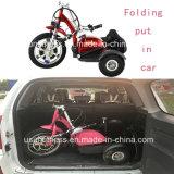Drei Rad-Mobilitäts-Roller mit verlängertem Sitz für Ältestes