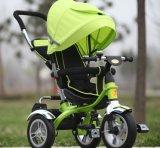 안전 벨트 (OKM-1112)를 가진 세발자전거가 고무 바퀴에 의하여/싸게 농담을 한다