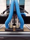Eixo da mudança do CNC máquina de gravura de madeira 1325 do CNC do router do auto