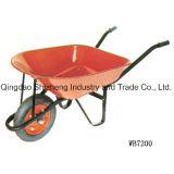 Wheelbarrow da qualidade superior da carga Capacity180kg (WB7406)