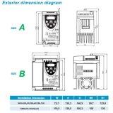 Preiswertestes Mini-Motordrehzahllaufwerk Wechselstrom-750W für Ausschnitt-Maschine