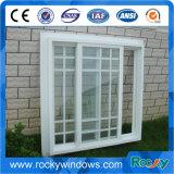 Doppeltes gehangenes Aluminiumwindows/örtlich festgelegtes Aluminiumfenster mit Gitter-Entwurf