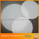 Folha branca Opal do difusor da iluminação do picosegundo do plástico para o painel do diodo emissor de luz